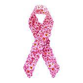 Pink ribbon. Breast cancer