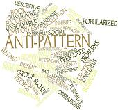 Word cloud for Anti-pattern