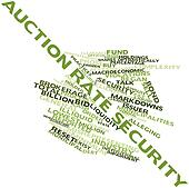 Word cloud for Auction rate security