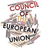 Word cloud for Council of the European Union