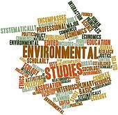 Word cloud for Environmental studies
