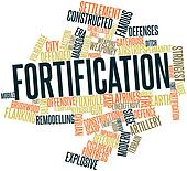 Word cloud for Fortification