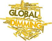 Word cloud for Global dimming