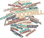 Word cloud for Goodwill
