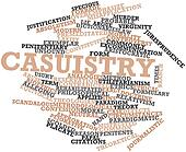 Word cloud for Casuistry