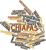 Word cloud for Chiapas