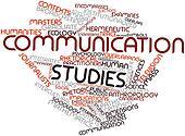 Word cloud for Communication studies