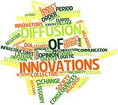 Word cloud for Diffusion of innovations