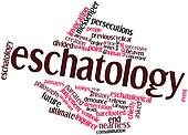 Word cloud for Eschatology