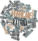 Word cloud for Hurricane Katrina