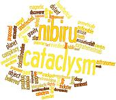 Word cloud for Nibiru cataclysm