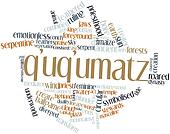 Word cloud for Q'uq'umatz