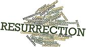Word cloud for Resurrection