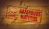 Hazardous Material stamp