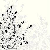 bush of wild flowers