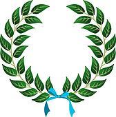 Winner Laurel wreath