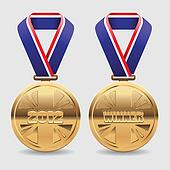 Gold Award Medals
