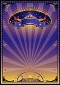 Purple circus