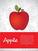 illustration of apple