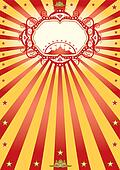 frame circus poster