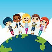 Happy Multi-ethnic Children