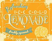 Vintage Lemonade Poster