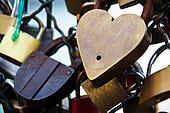 paris, france. symbols of love