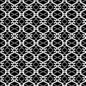 Ethnic black and white texture