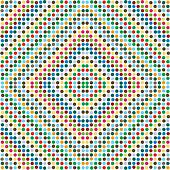 Polka dots in pastel colors in diagonal