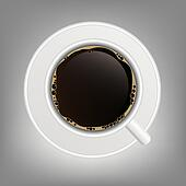 cup of coffee icon vector illustration
