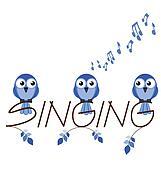 Singing twig text