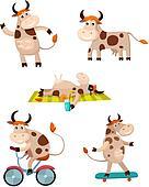 cow set