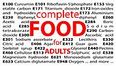 Food additives - e-numbers