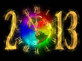Happy new year 2013 - America