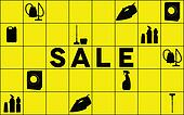 Cleaning equipment sale banner
