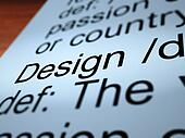 Design Definition Closeup Showing Sketch Plan