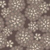 Vector lace floral pattern