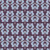 Vector vintage seamless background