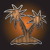 vector palm