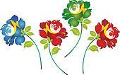 Classic flower border
