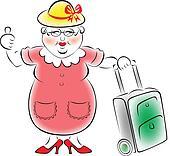 Grandma goes to travel