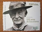 scouting postage stamp
