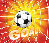 Football Goal Clip Art - Royalty Free - GoGraph