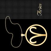 Aries Gold Necklace