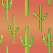 Seamless Cacti