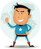 Comic Superhero Character