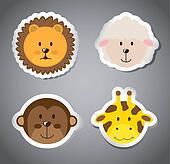 faces animals