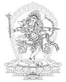 Kurukulla Buddhist Deity