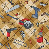 Household Tools Plaid