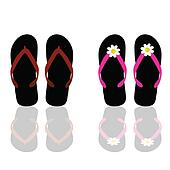 flip flop for beach for man and woman